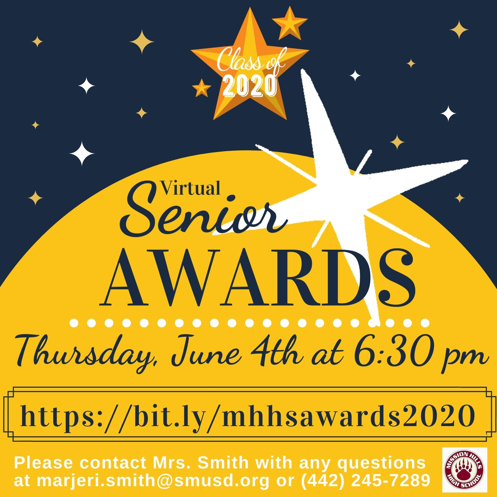 senior awards 2020 flyer