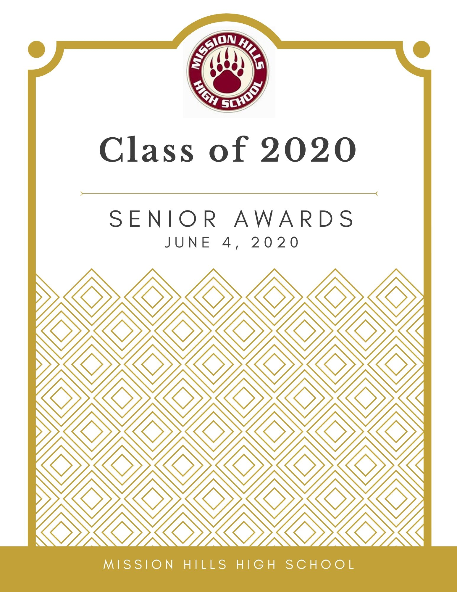 Senior Awards 2020 Program